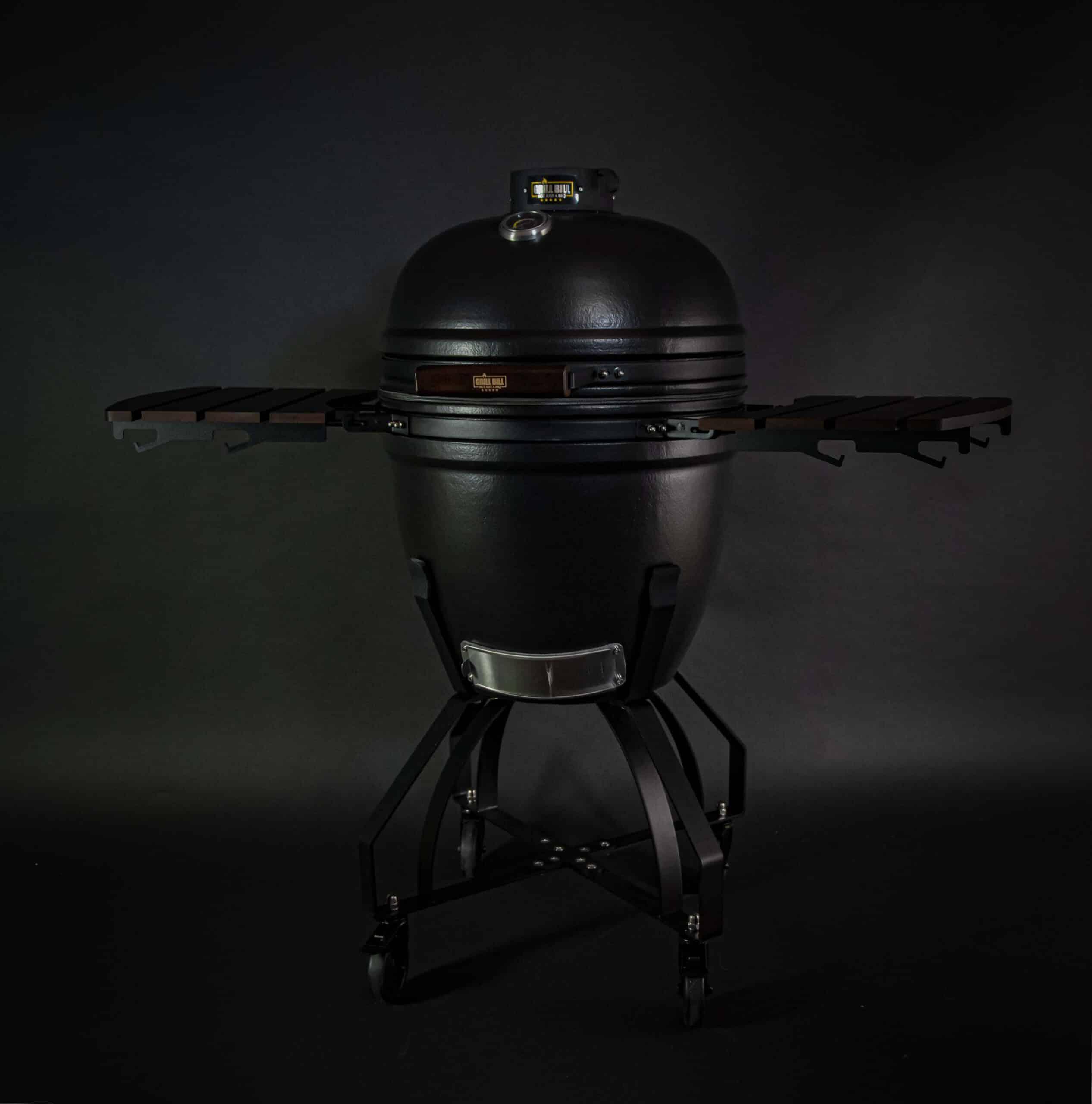kamado bbq large grill bill pro 21 inch side