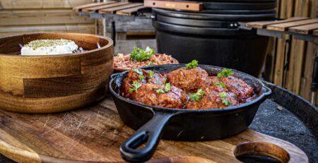 recept griekse gehaktballen van de kamado bbq