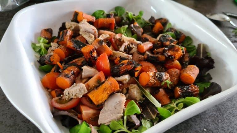 bbq salade gegrild